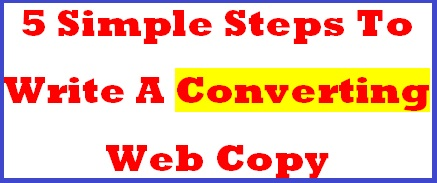 Converting Web Copy